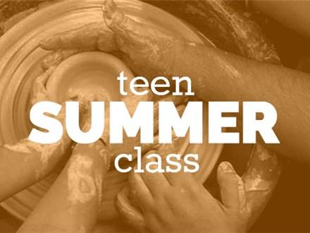 SUMMER Teen Friday 2-4pm, (JUN 22nd-AUG 17th) 2018, TEEN/TWEEN WHEEL THROWING CLASS