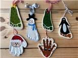 Clay Print Ornaments - Pick a Date
