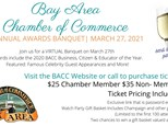 Bay Area Chamber of Commerce Annual Awards Banquet