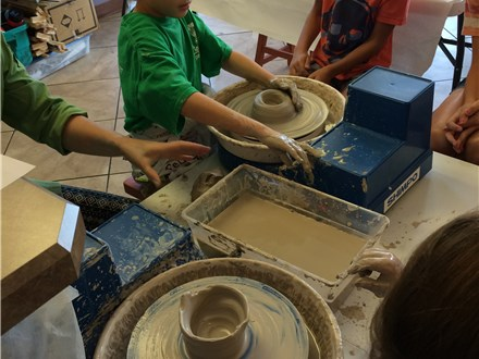 Pottery Wheel Workshop - Evening Session - 04.13.17