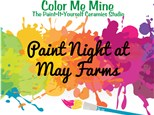 Family Paint Night at May Farms