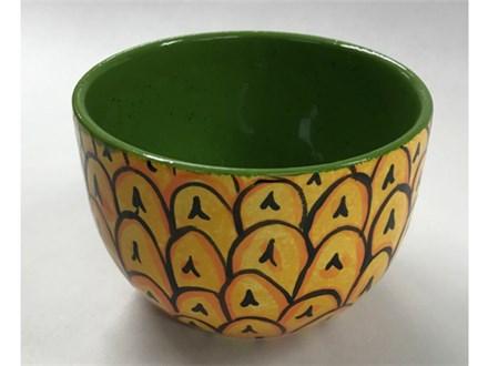 Pineapple Bowl Teen Ceramic - 09/14