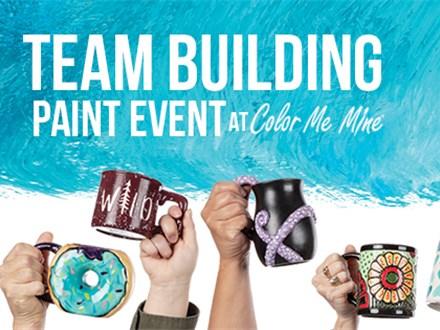 Team Building at Color Me Mine - Denville, NJ