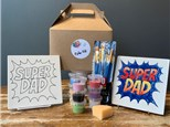 PoGo Kits: Paint Your Own Pottery ToGo! (Super Dad Tile)