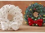 "pre-order a light-up (8"") wreath!"