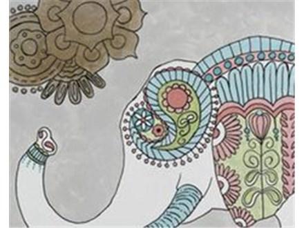 """Paint & Sip """"Boho Elephant"""""""