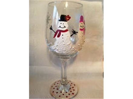 Tewksbury Federal CU Wineglass Painting Event - October 17th