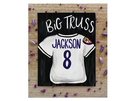 Mt. Washington Lamar Jackson Ravens Canvas - Feb 1st