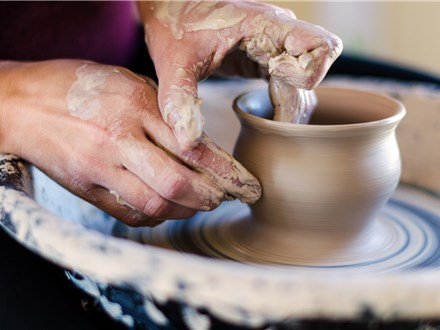 Pottery Wheel Class Ages 8 & up 7/11/20