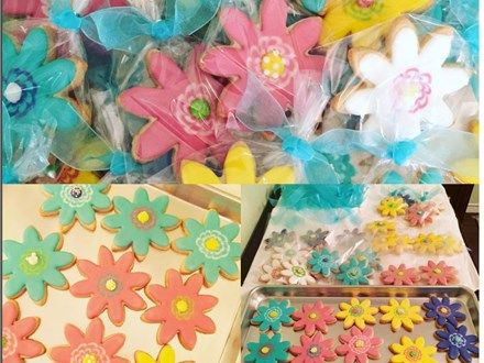 spring cookie decorating with Short Street Sweets
