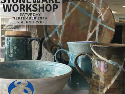 Stoneware Workshop - September