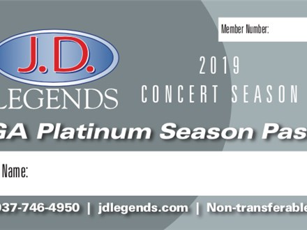 2019 Season Platinum Concert Pass