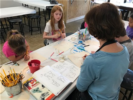 Drawing & Painting  - Ages 6-8 - Monday 4:30pm - Winter