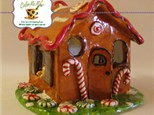 Clay Workshop Ginger Bread House - November 2nd