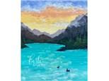 Mountain Lake Paint Class - WR