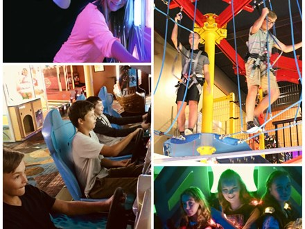 Teen Awesome Arcade Birthday Party Package