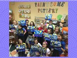 Canvas Party at PAINTSOME POTTERY