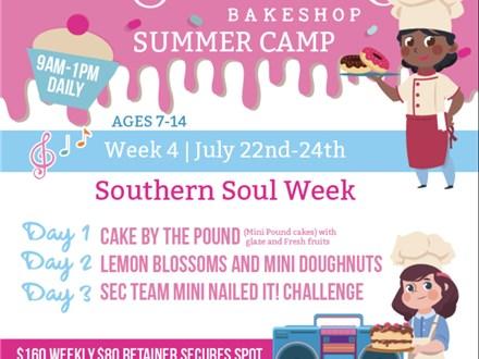 Summer Camp Series Week #4 Southern Soul Week  July 22nd-24th