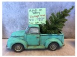 Hands On Pottery Vintage Truck W/ Tree - December 14th