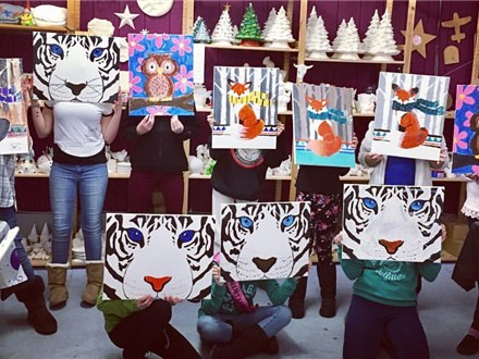 TEEN CANVAS PAINT PARTY!
