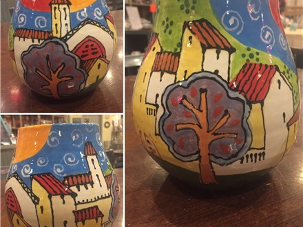 Pottery Painting Class with Dario Scholis