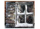 Adult Canvas - Snowy Window - Jan 20th