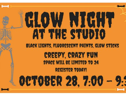 GLOW NIGHT! - Paint & Sip - Oct 28