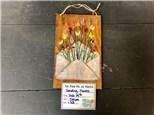 You Had Me at Merlot - Sending Flower Mixed Media - Feb 19th