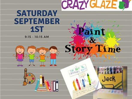 Ticket for Storytime-September 1st-The Day the Crayons Quit