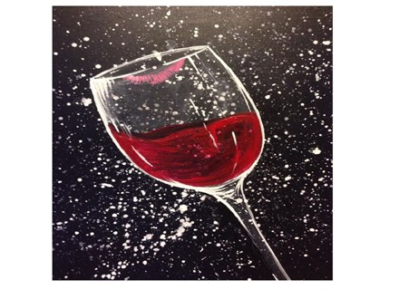 Adult Canvas-Wine Glass/Glasses - Feb 3rd