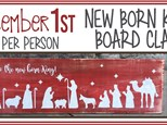 Dec. 1st Glory to the New Born King DIY Board!