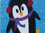 Penguin After School Enrichment Kids Painting Class