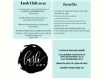 Lush Club 2021 Renewal (2020 LC members only)