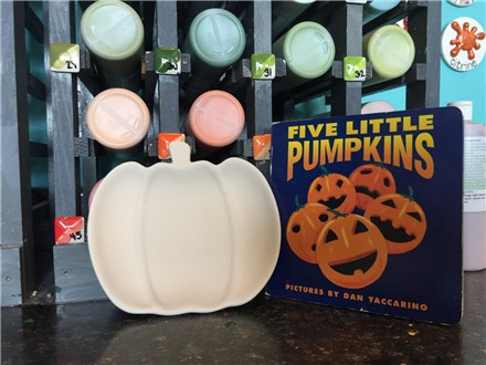 Storytime Art: Pumpkins! October 11th and 12th
