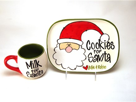 Cookies for Santa Monthly Masterpiece