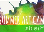 I LOVE FOOD CAMP at Pottery By You!