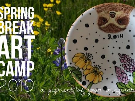 Spring Break Art Camp 2019 Thursday