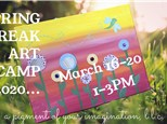 Spring Break Art Camp 3/19/20 Thursday