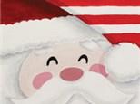 Kids Canvas Class ~ Santa's Smile