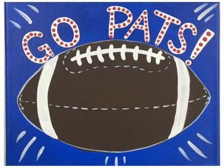 Go Pats Kids Canvas - 10/27