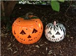 Order Now!- Personalized Name Carved Pumpkin