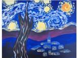 Mt. Washington Kid's Starry Night Canvas - May 21st