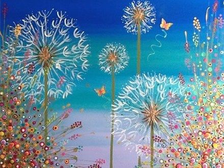 """Dandelion Sunset"" Canvas Night!"