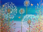 """Dandelion Sunset"" Canvas Night!"