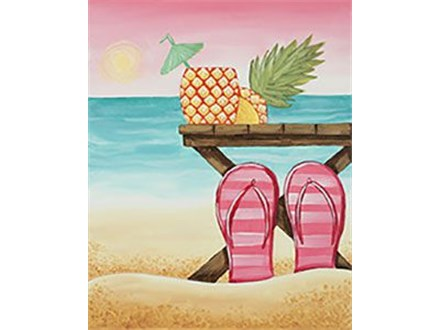Adult Canvas - Day at the Beach - 06.19.19