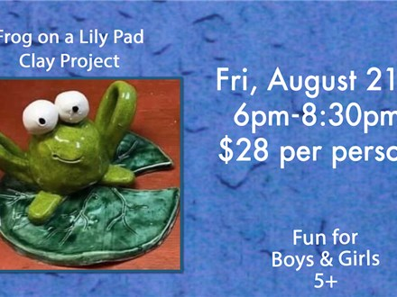Frog Kids Night Out 8/21