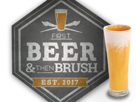 Beer and Brush At the Genesee Brewery Oct 16th,2018