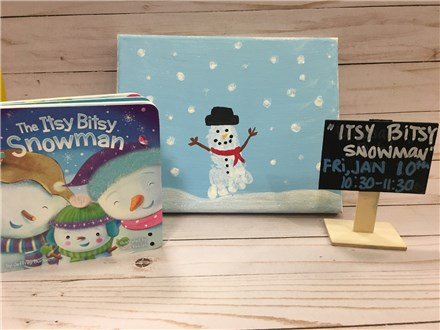 Pre-School Storytime: The Itsy Bitsy Snowman