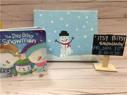 Pre-School Storytime: The Itsy Bitsy Snowman