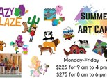 2019 Summer Art Camp (Full Weeks)